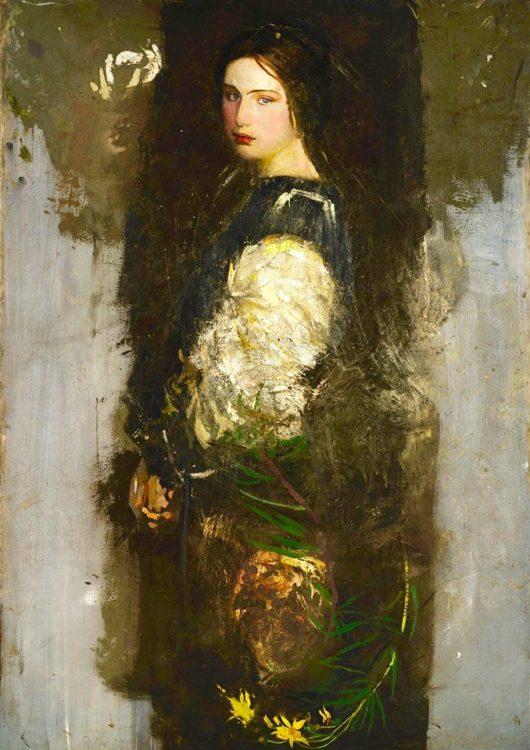 Abbott H Thayer (1849-1921) - The Women Gallery